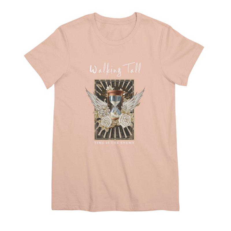 Ladies RosesnWings Walking Tall T - Shirt Women's Premium T-Shirt by Walking Tall - Band Merch Shop