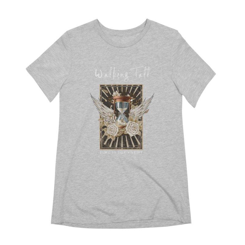 Ladies RosesnWings Walking Tall T - Shirt Women's Extra Soft T-Shirt by Walking Tall - Band Merch Shop