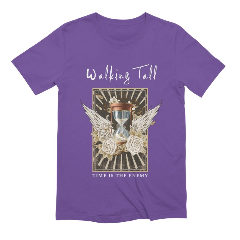 Ladies RosesnWings Walking Tall T - Shirt Men's Extra Soft T-Shirt by Walking Tall - Band Merch Shop
