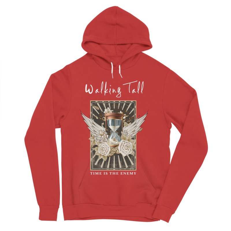 Ladies RosesnWings Walking Tall T - Shirt Women's Pullover Hoody by Walking Tall - Band Merch Shop