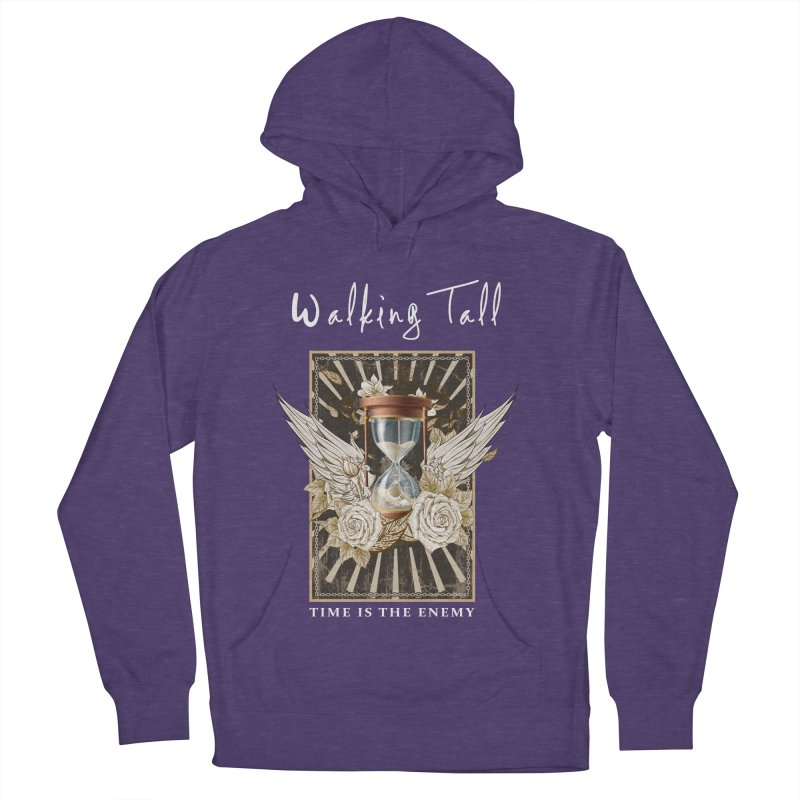 Ladies RosesnWings Walking Tall T - Shirt Women's French Terry Pullover Hoody by Walking Tall - Band Merch Shop