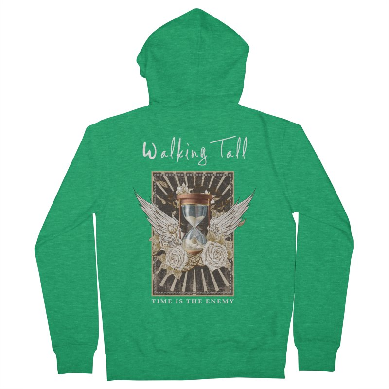 Ladies RosesnWings Walking Tall T - Shirt Women's Zip-Up Hoody by Walking Tall - Band Merch Shop