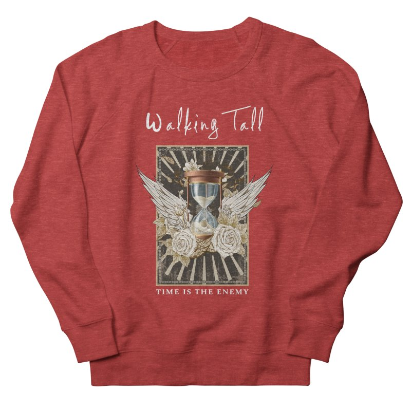 Ladies RosesnWings Walking Tall T - Shirt Women's French Terry Sweatshirt by Walking Tall - Band Merch Shop