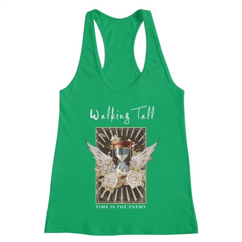 Ladies RosesnWings Walking Tall T - Shirt Women's Racerback Tank by Walking Tall - Band Merch Shop