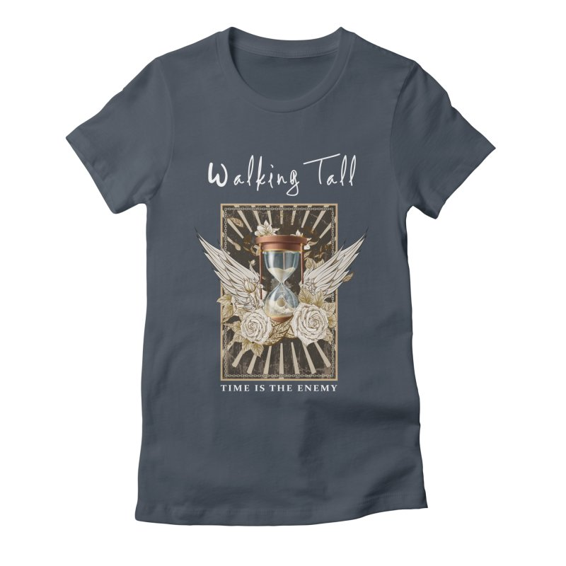 Ladies RosesnWings Walking Tall T - Shirt Women's T-Shirt by Walking Tall - Band Merch Shop