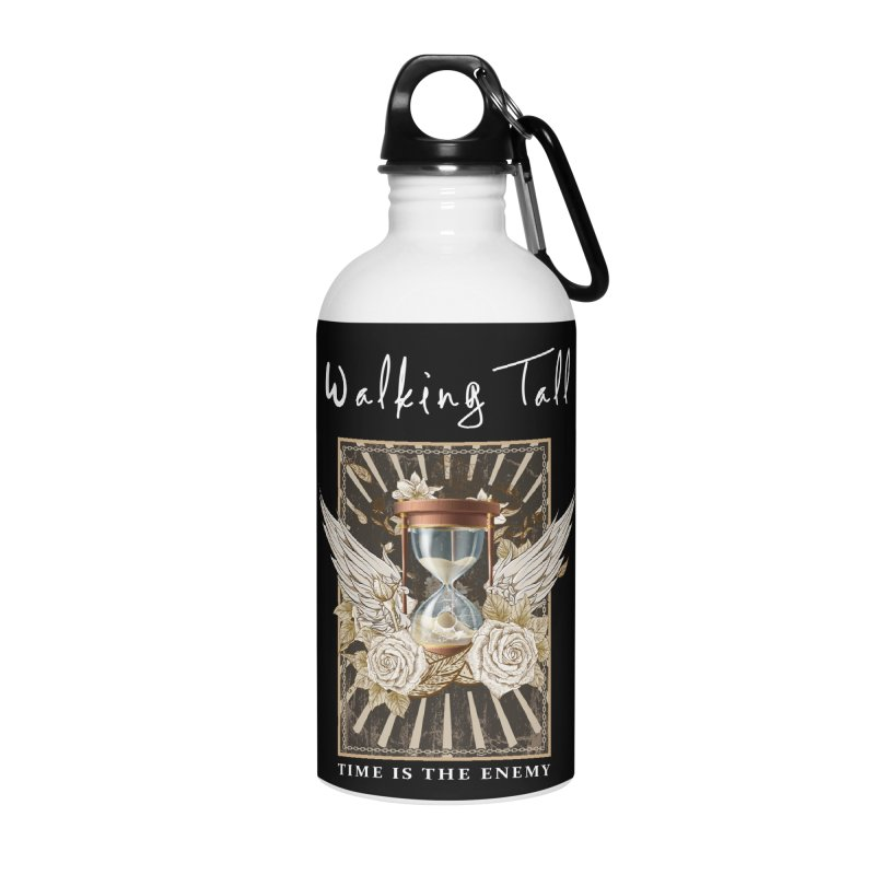 Ladies RosesnWings Walking Tall T - Shirt Accessories Water Bottle by Walking Tall - Band Merch Shop