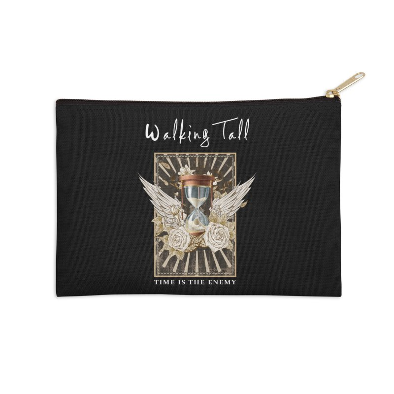 Ladies RosesnWings Walking Tall T - Shirt Accessories Zip Pouch by Walking Tall - Band Merch Shop