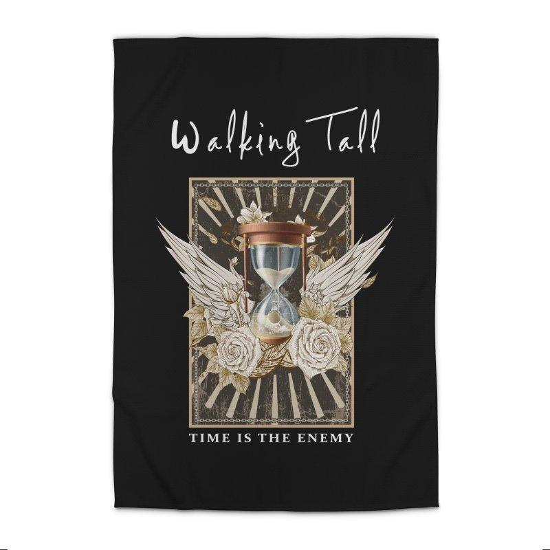 Ladies RosesnWings Walking Tall T - Shirt Home Rug by Walking Tall - Band Merch Shop