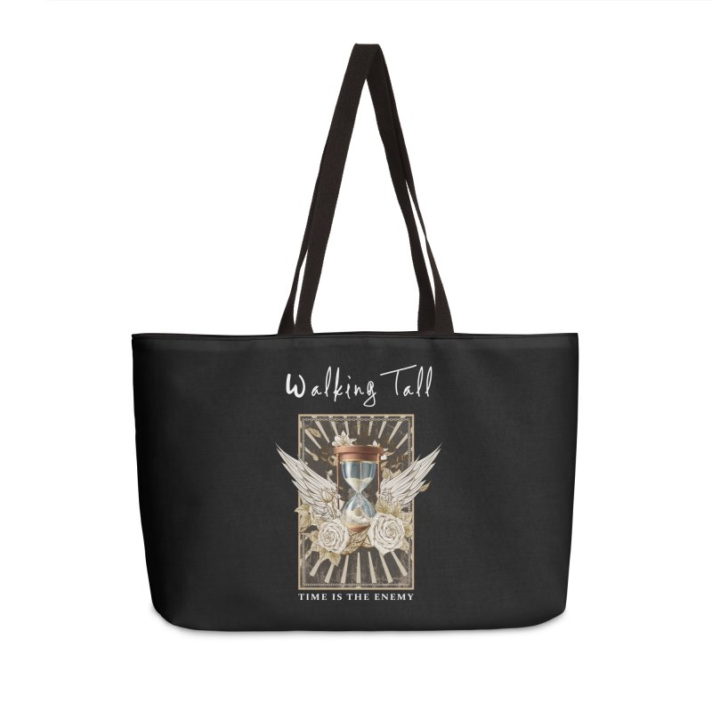 Ladies RosesnWings Walking Tall T - Shirt Accessories Weekender Bag Bag by Walking Tall - Band Merch Shop