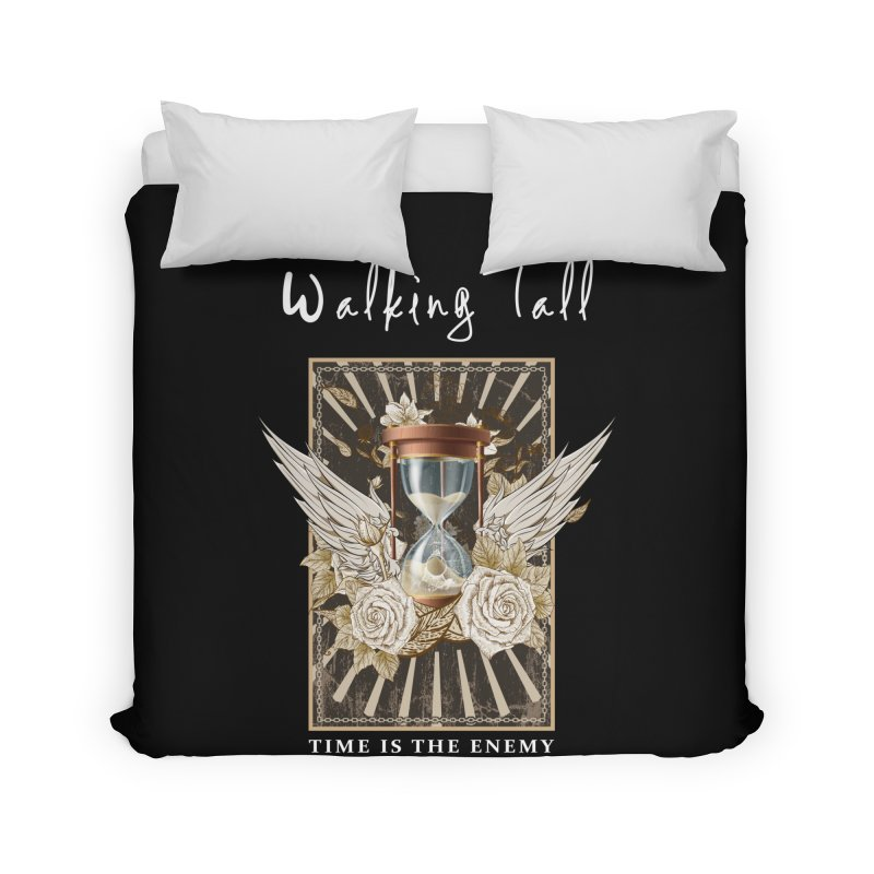 Ladies RosesnWings Walking Tall T - Shirt Home Duvet by Walking Tall - Band Merch Shop