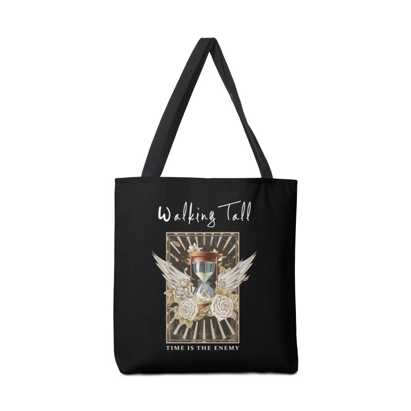 Ladies RosesnWings Walking Tall T - Shirt Accessories Tote Bag Bag by Walking Tall - Band Merch Shop