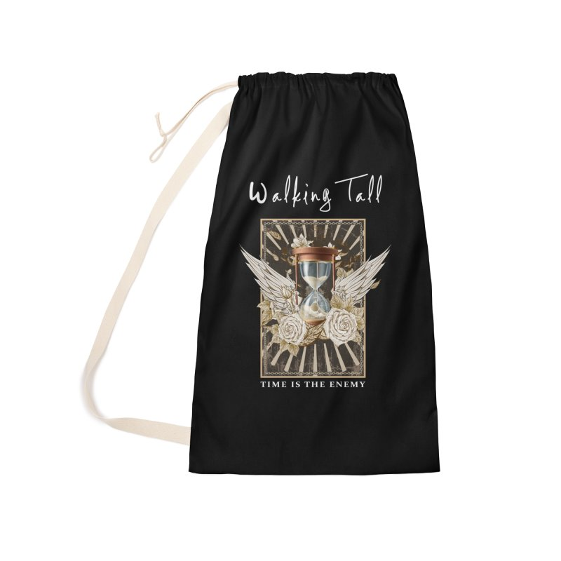 Ladies RosesnWings Walking Tall T - Shirt Accessories Laundry Bag Bag by Walking Tall - Band Merch Shop