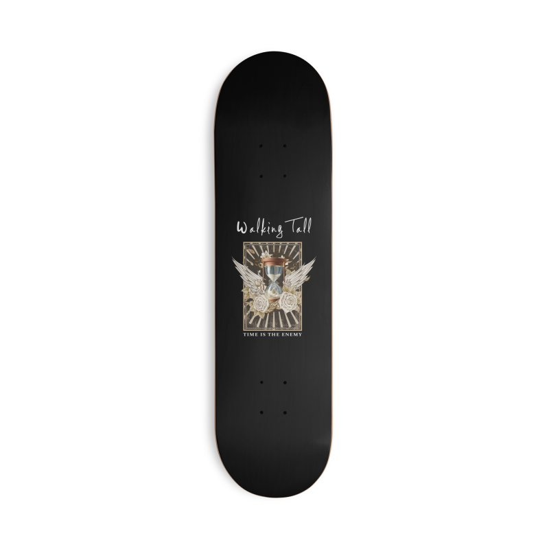 Ladies RosesnWings Walking Tall T - Shirt Accessories Deck Only Skateboard by Walking Tall - Band Merch Shop