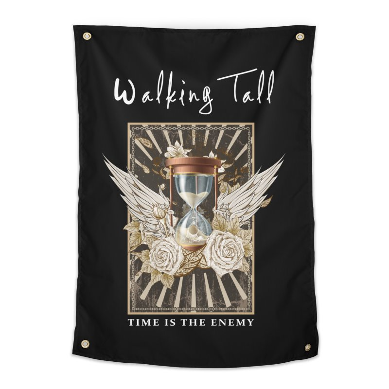 Ladies RosesnWings Walking Tall T - Shirt Home Tapestry by Walking Tall - Band Merch Shop