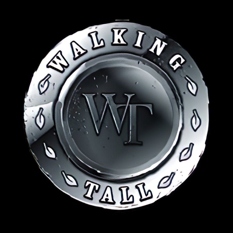 Walking Tall Crest Women's T-Shirt by Walking Tall - Band Merch Shop