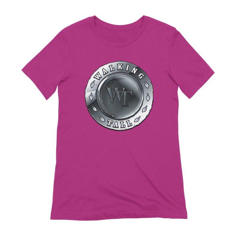Walking Tall Crest Women's Extra Soft T-Shirt by Walking Tall - Band Merch Shop