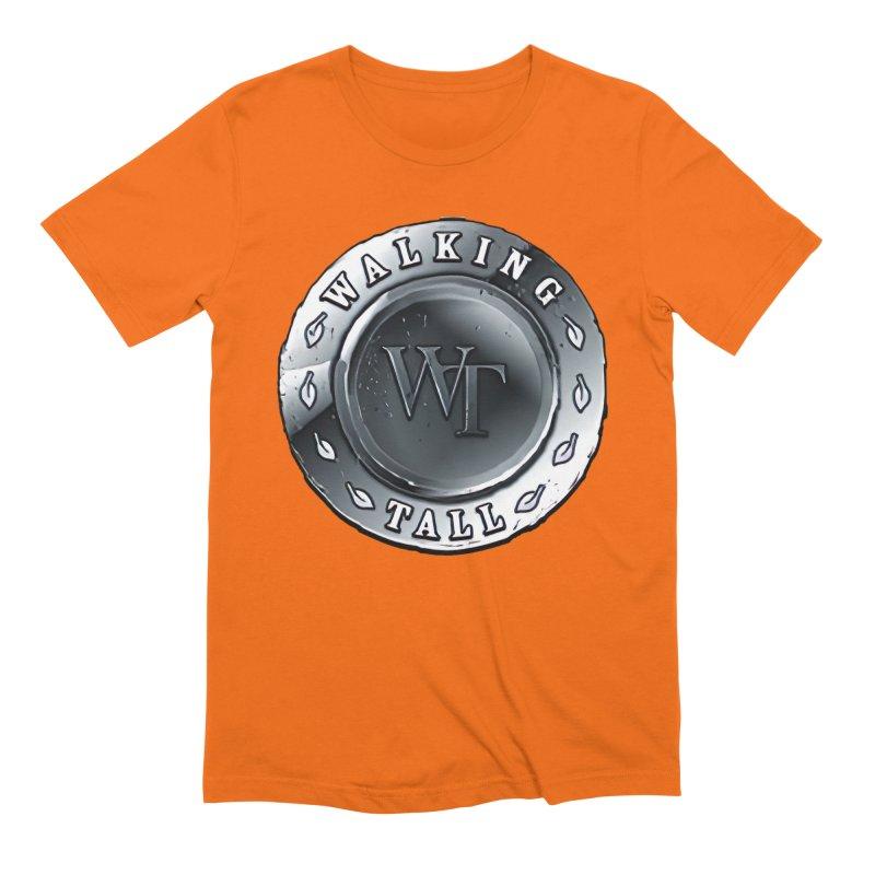 Walking Tall Crest Men's Extra Soft T-Shirt by Walking Tall - Band Merch Shop
