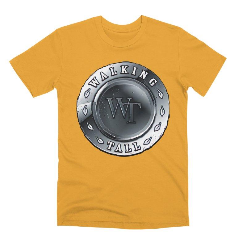 Walking Tall Crest Men's Premium T-Shirt by Walking Tall - Band Merch Shop