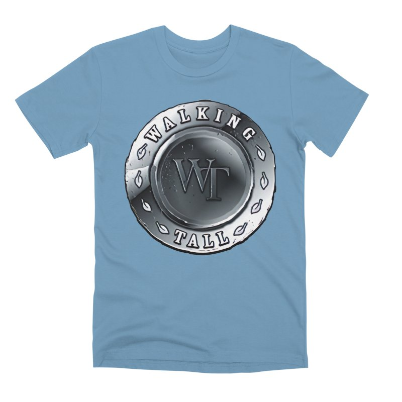 Walking Tall Crest Men's Premium T-Shirt by Walking Tall - Band Merch Shop