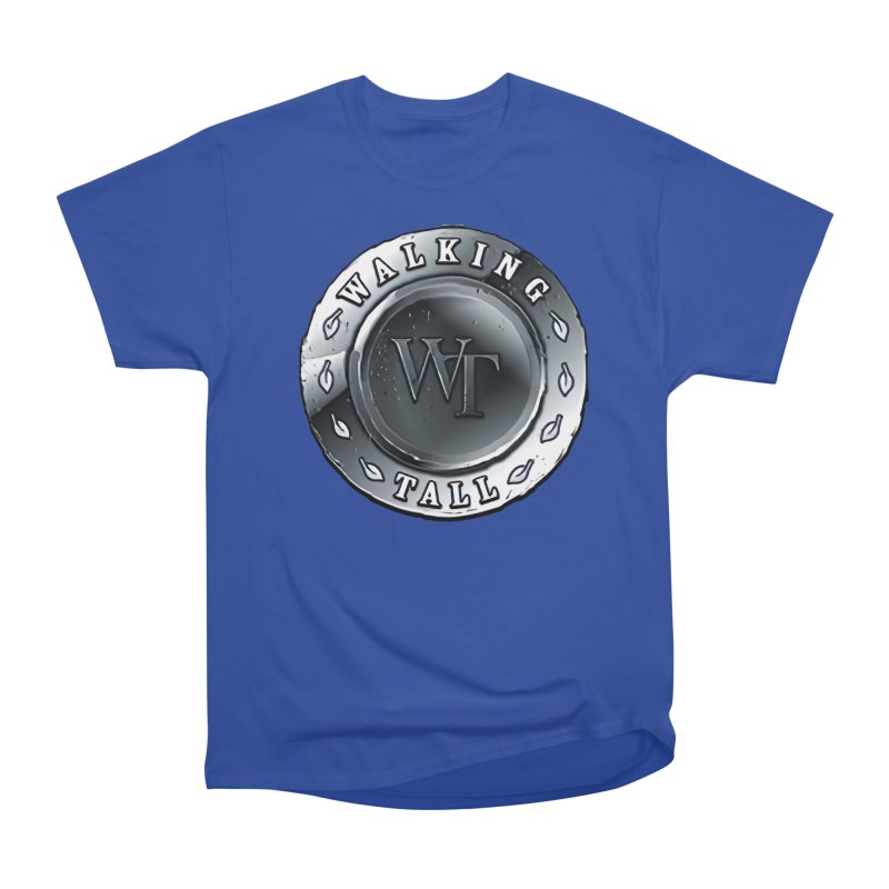 Walking Tall Crest Men's Heavyweight T-Shirt by Walking Tall - Band Merch Shop