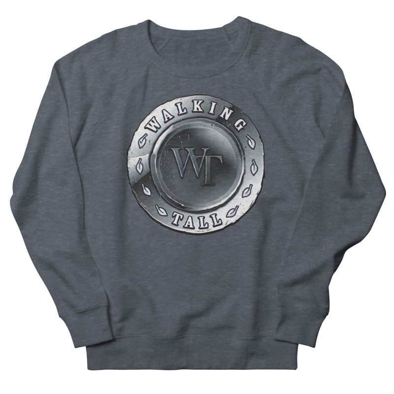 Walking Tall Crest Men's French Terry Sweatshirt by Walking Tall - Band Merch Shop