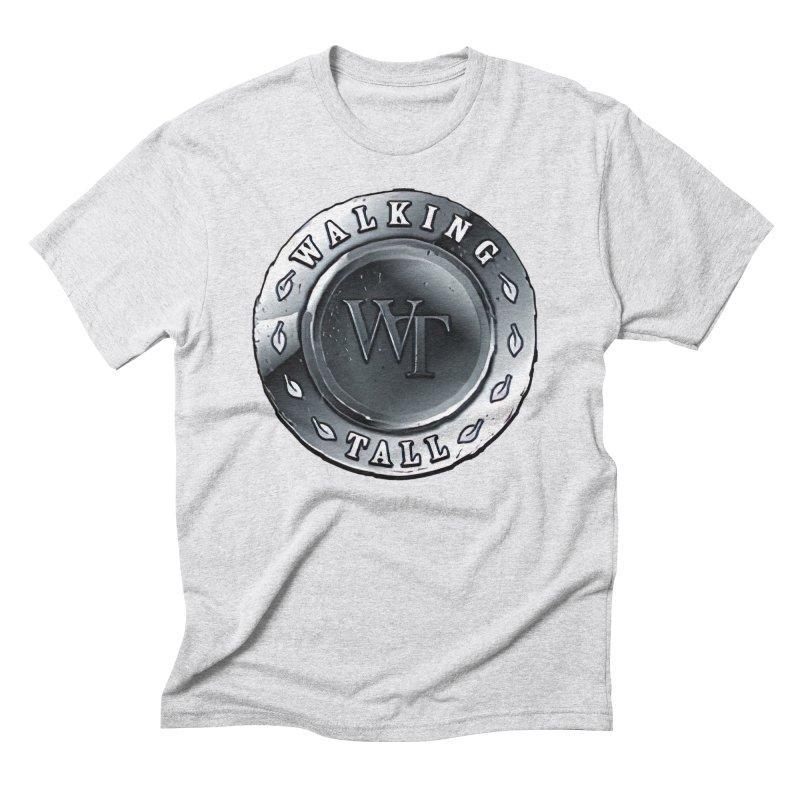 Walking Tall Crest Men's Triblend T-Shirt by Walking Tall - Band Merch Shop