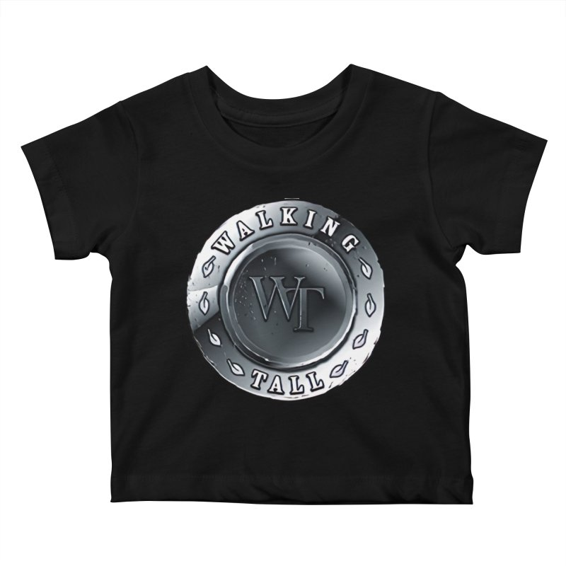 Walking Tall Crest Kids Baby T-Shirt by Walking Tall - Band Merch Shop