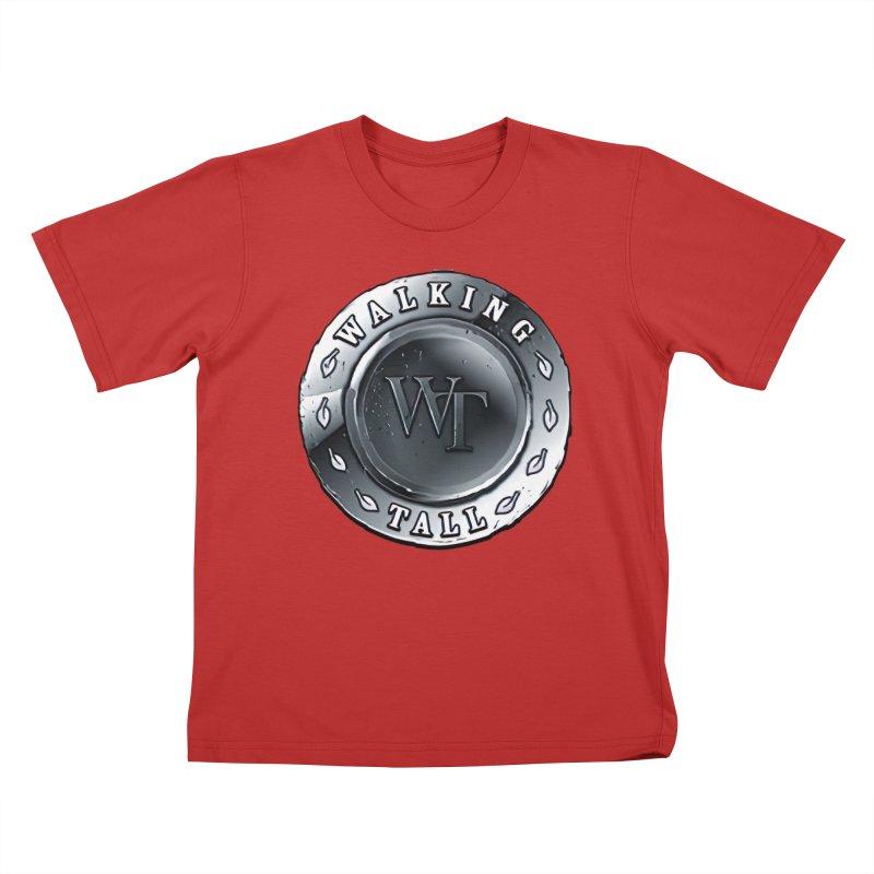 Walking Tall Crest Kids T-Shirt by Walking Tall - Band Merch Shop