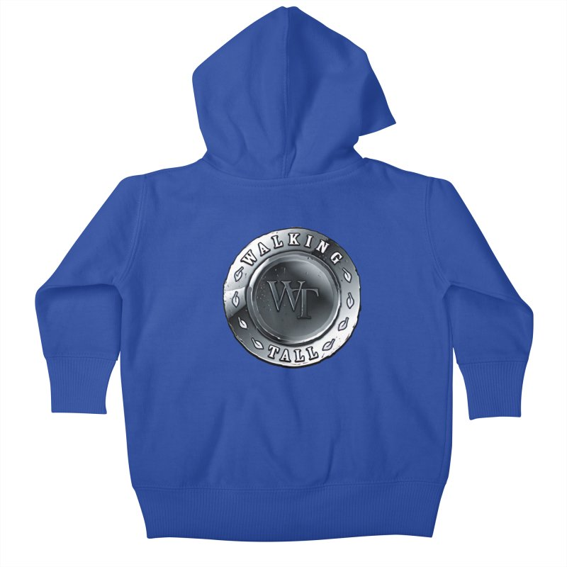Walking Tall Crest Kids Baby Zip-Up Hoody by Walking Tall - Band Merch Shop