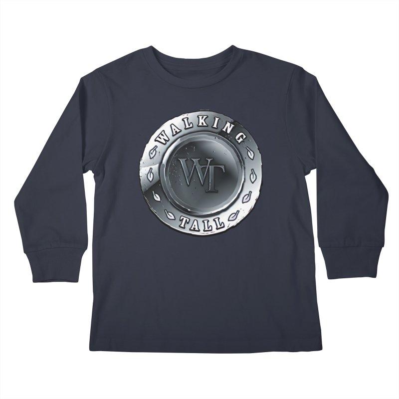 Walking Tall Crest Kids Longsleeve T-Shirt by Walking Tall - Band Merch Shop
