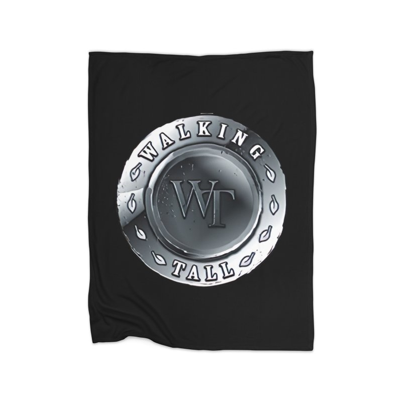 Walking Tall Crest Home Fleece Blanket Blanket by Walking Tall - Band Merch Shop