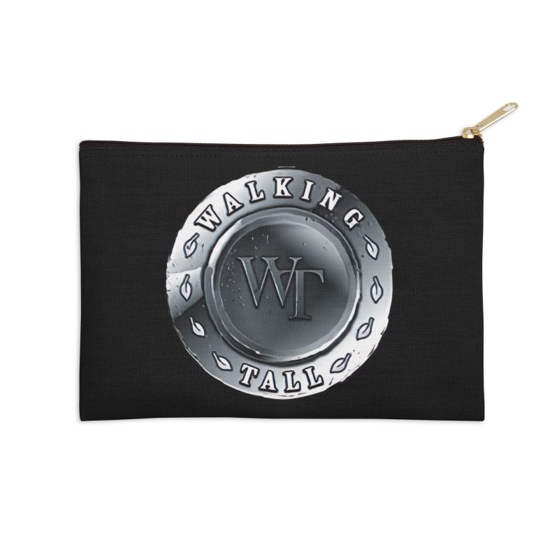 Walking Tall Crest Accessories Zip Pouch by Walking Tall - Band Merch Shop