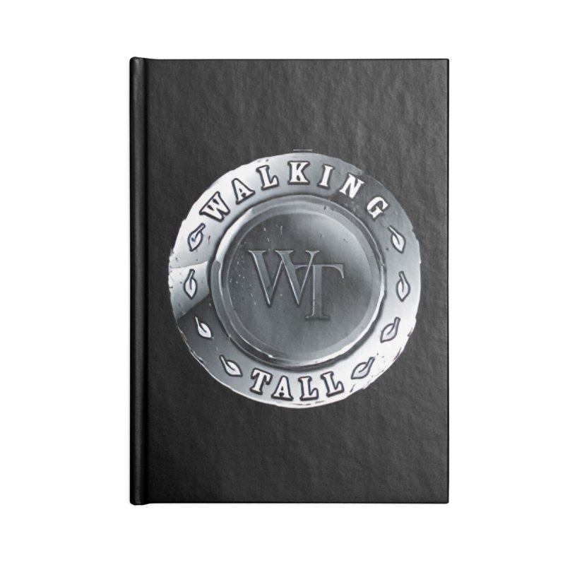 Walking Tall Crest Accessories Blank Journal Notebook by Walking Tall - Band Merch Shop