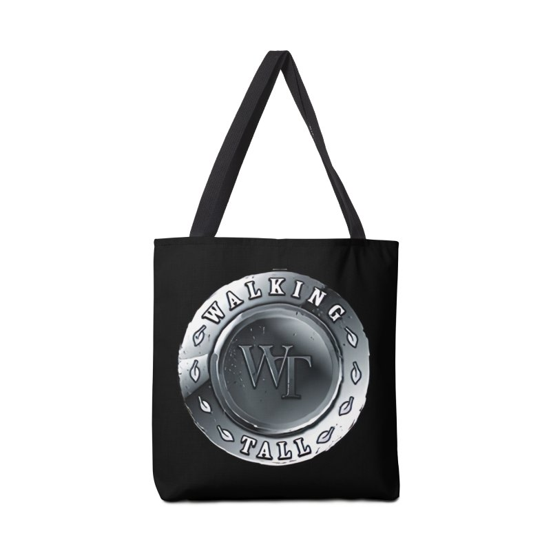 Walking Tall Crest Accessories Tote Bag Bag by Walking Tall - Band Merch Shop