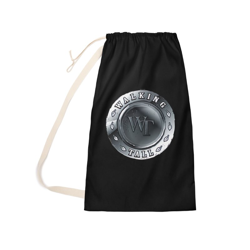 Walking Tall Crest Accessories Laundry Bag Bag by Walking Tall - Band Merch Shop