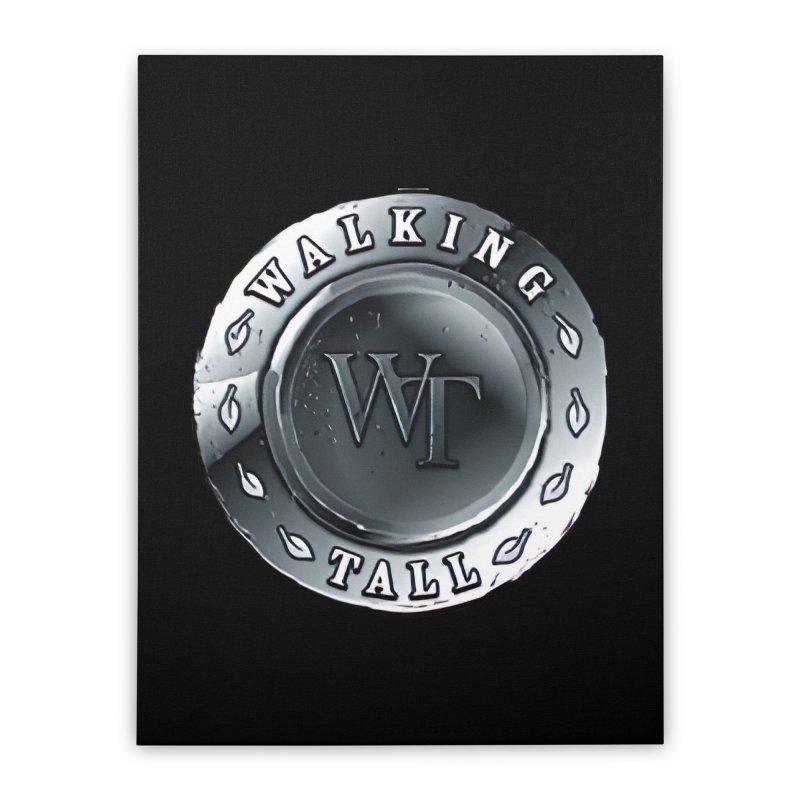 Walking Tall Crest Home Stretched Canvas by Walking Tall - Band Merch Shop