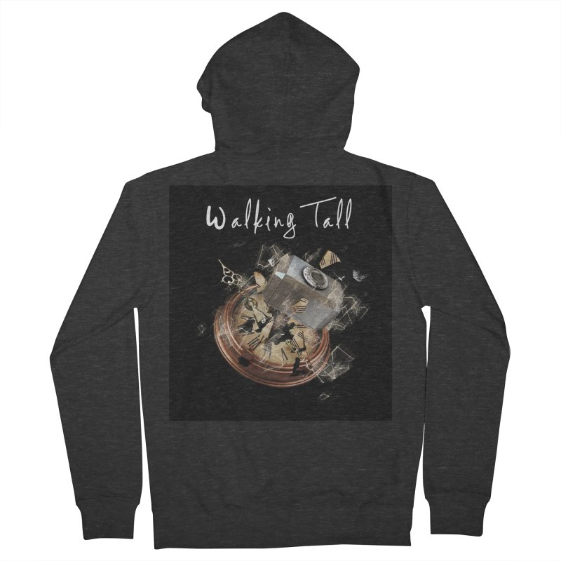 Hammered Time Women's French Terry Zip-Up Hoody by Walking Tall - Band Merch Shop