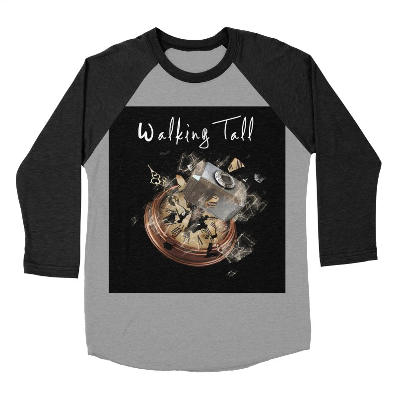 Hammered Time Women's Baseball Triblend Longsleeve T-Shirt by Walking Tall - Band Merch Shop