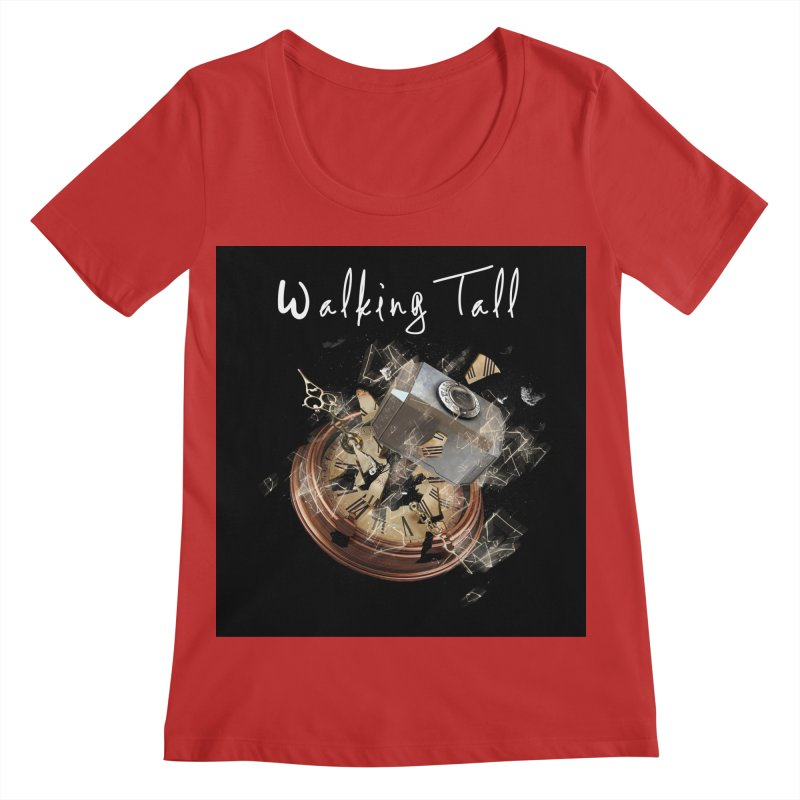 Hammered Time Women's Regular Scoop Neck by Walking Tall - Band Merch Shop