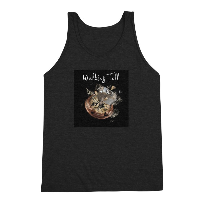 Hammered Time Men's Triblend Tank by Walking Tall - Band Merch Shop