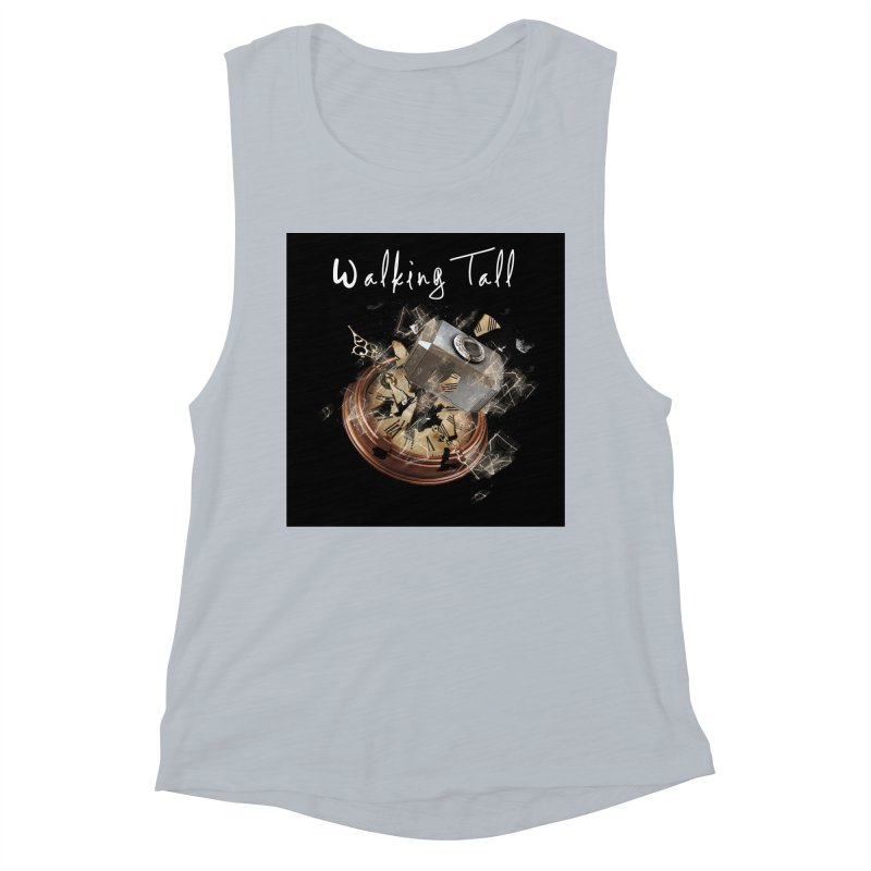 Hammered Time Women's Muscle Tank by Walking Tall - Band Merch Shop