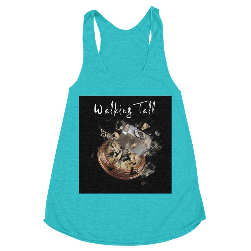 Hammered Time Women's Racerback Triblend Tank by Walking Tall - Band Merch Shop
