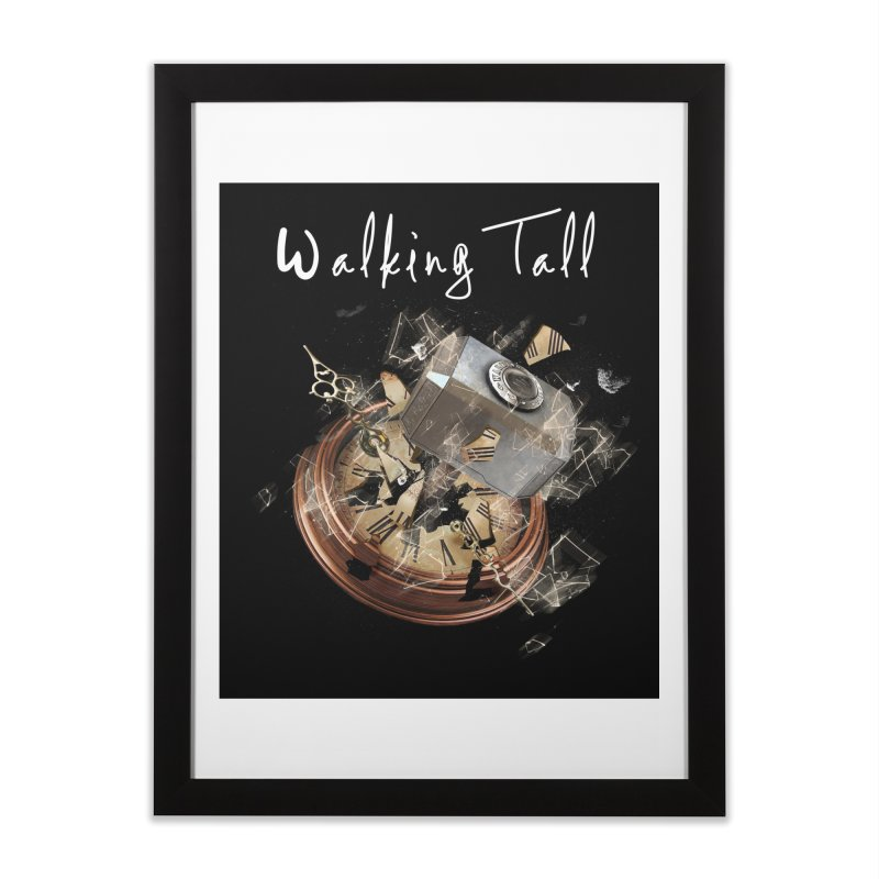 Hammered Time Home Framed Fine Art Print by Walking Tall - Band Merch Shop