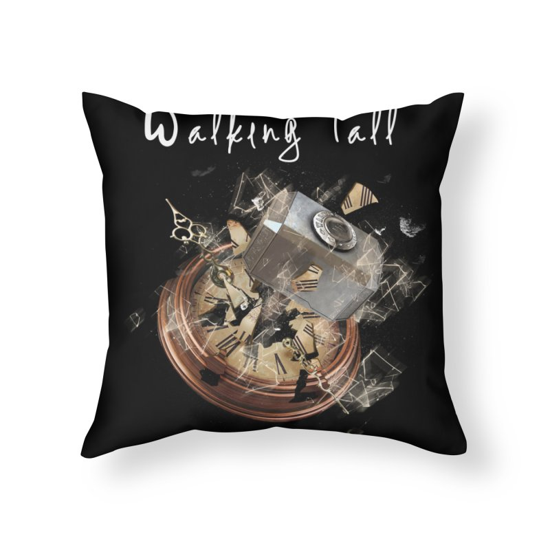 Hammered Time Home Throw Pillow by Walking Tall - Band Merch Shop