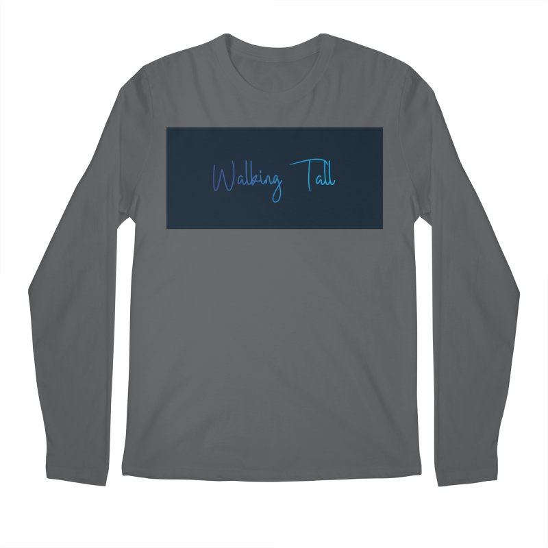 Walking Tall Plain Men's Longsleeve T-Shirt by Walking Tall - Band Merch Shop