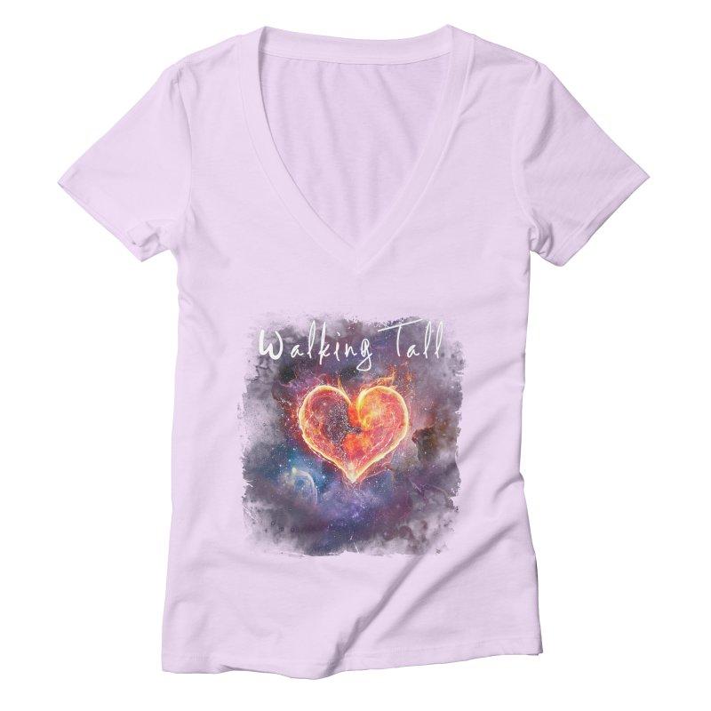 Universal Love Women's Deep V-Neck V-Neck by Walking Tall - Band Merch Shop