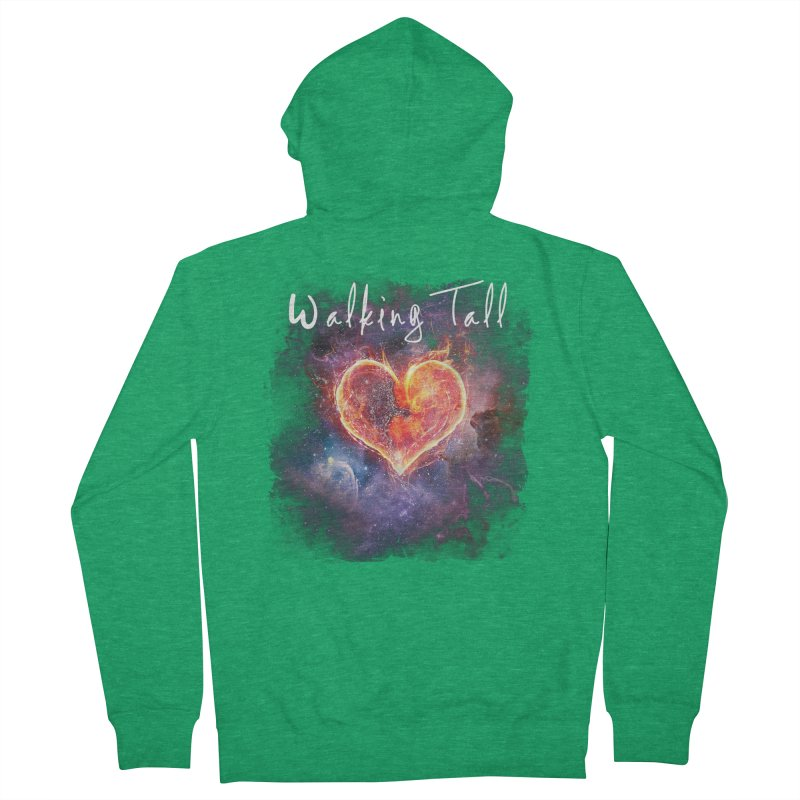 Universal Love Women's French Terry Zip-Up Hoody by Walking Tall - Band Merch Shop