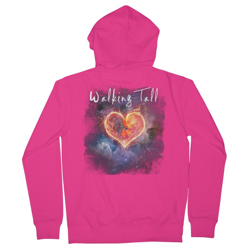 Universal Love Men's French Terry Zip-Up Hoody by Walking Tall - Band Merch Shop