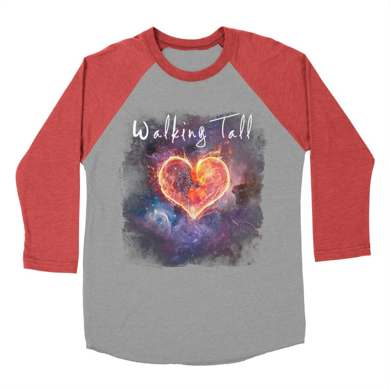 Universal Love Women's Baseball Triblend Longsleeve T-Shirt by Walking Tall - Band Merch Shop