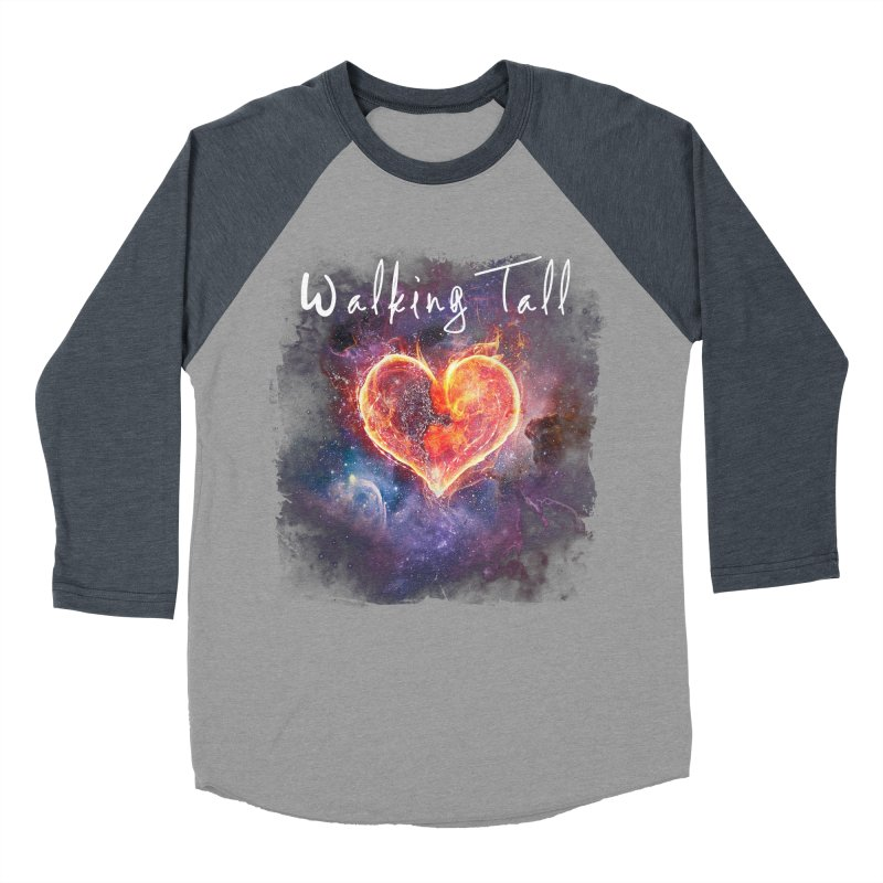 Universal Love Women's Baseball Triblend Longsleeve T-Shirt by Walking Tall - Band Merch Shop